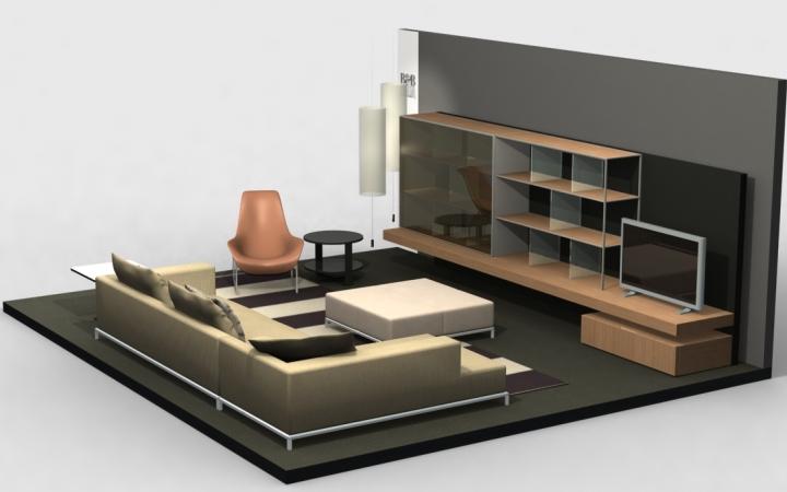 Planogram 3d software progettazione show room virtuali for Programma arredamento 3d